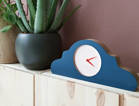 modern Dutch made clock for home