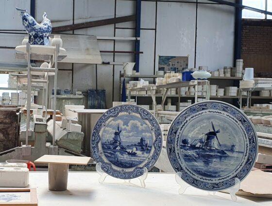 tour around ceramics workshop