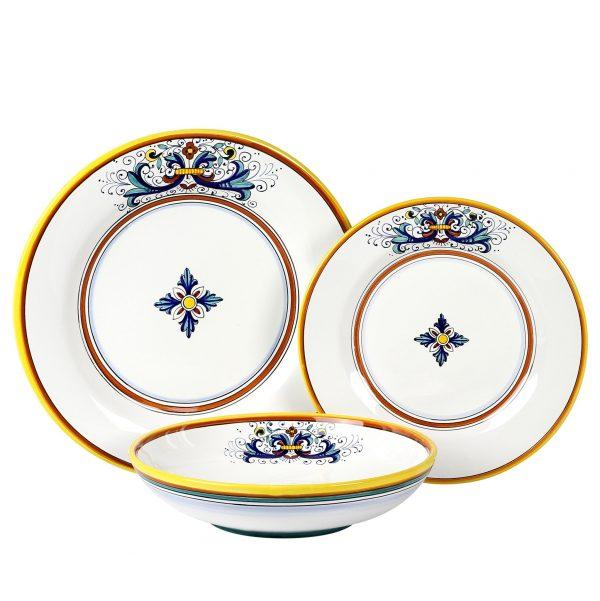 modern European ceramics set