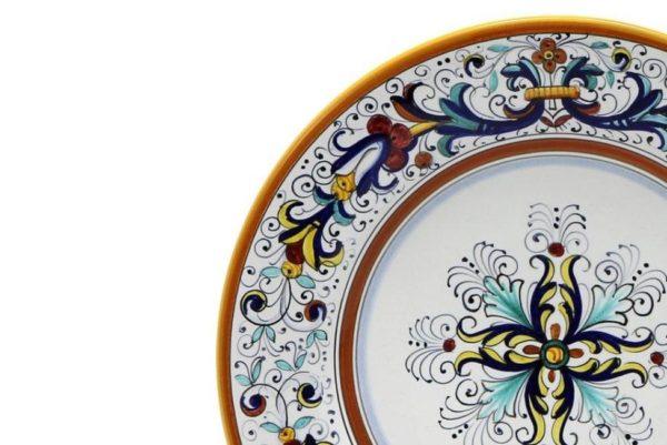 plate decoration detail