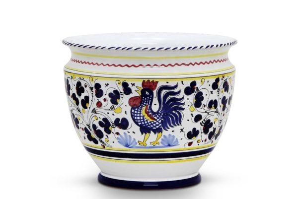 blue large pot