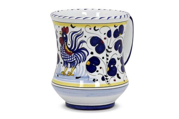 very large mug blue