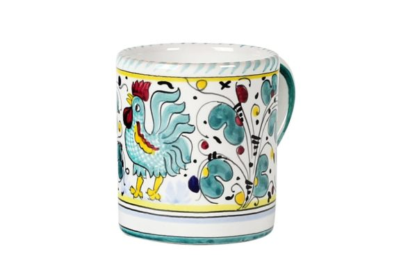 mug colour variation - green
