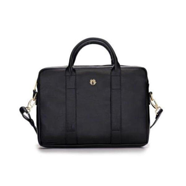 Polish made leather laptop bag