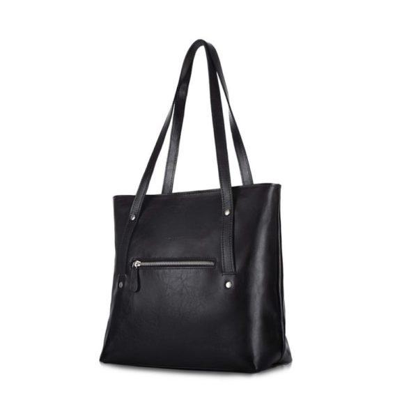 black product leather option