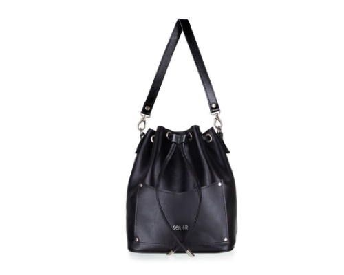 featuring leather accessory for women