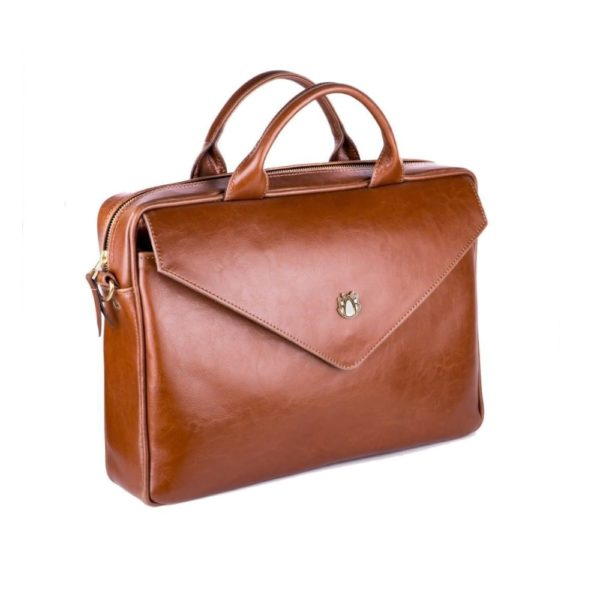brown leather attribute