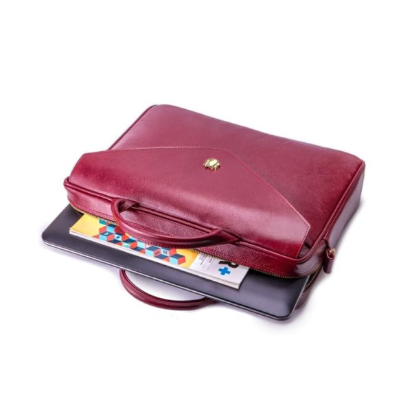 laptop outside the bag