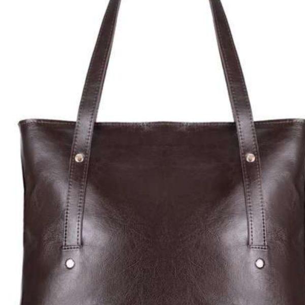 bag leather and design details
