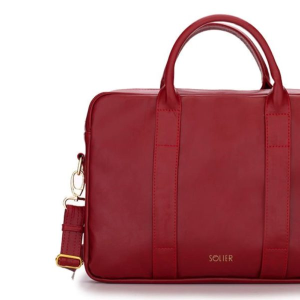 red leather product option