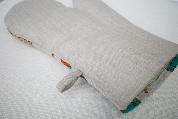 linen oven glove