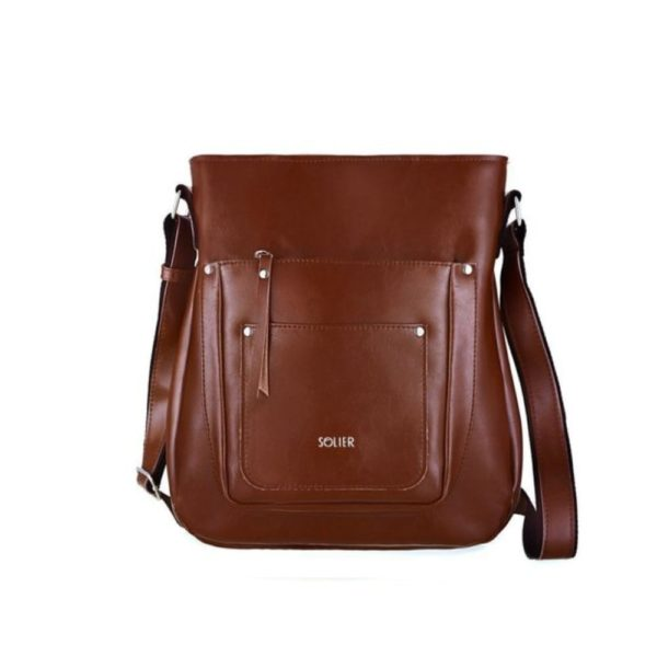 brown leather product option