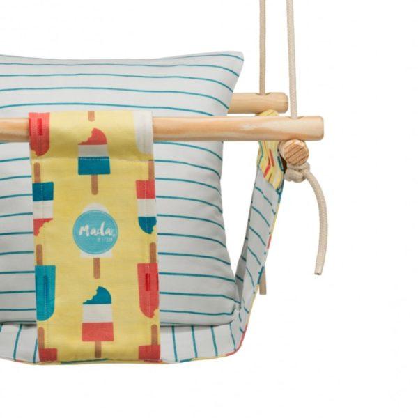baby swing design detail