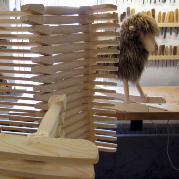 showcasing manufacturing process