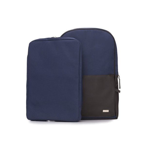 showcasing backpack product