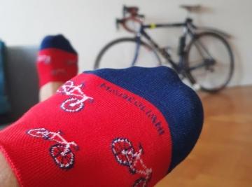 cyclist socks lifestyle