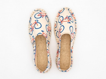 pair of summer shoes
