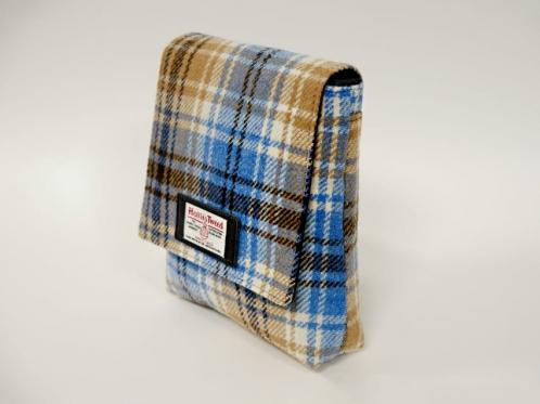 harris tweed tartan bag