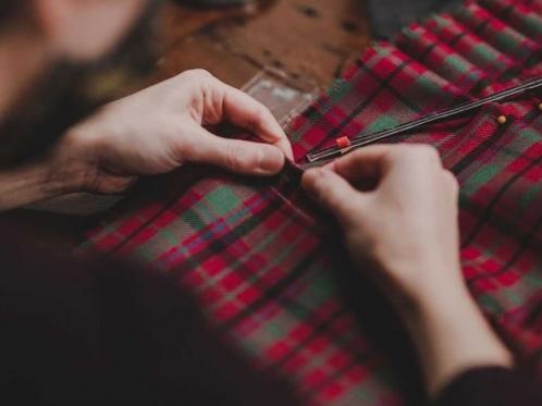 artisan sewing kilt
