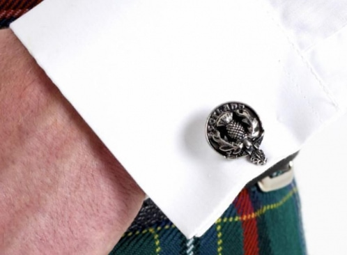 man's hand with a cuffling
