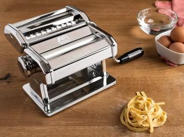pasta maker on the kitchen table