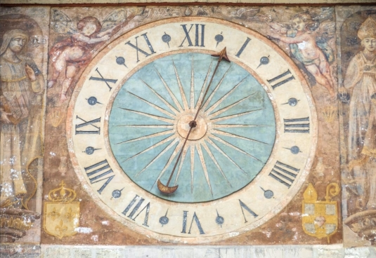 ancient-clock-with-decorations
