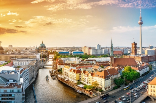Berlin's skyline - link to a page