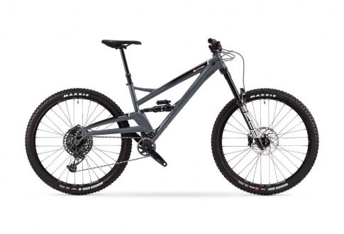 grey-full-suspension-bicycle