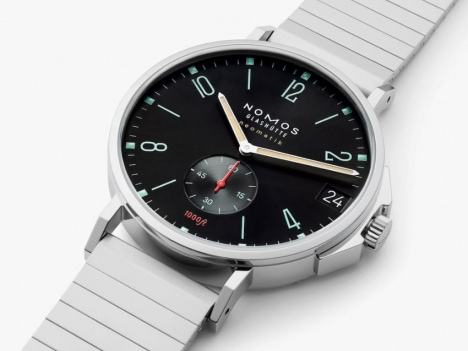 german-watch-on-white-surface
