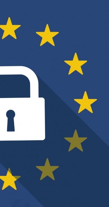 lock and European flag