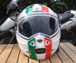 link to a Caberg helmet review