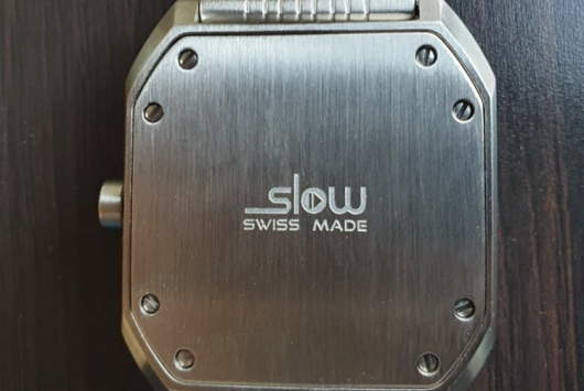 swiss made - label on a watch