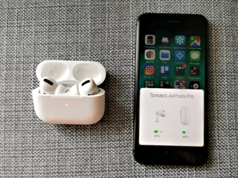 airpods pro app on the phone