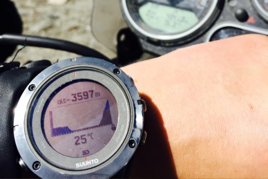 watch shows altitude levels