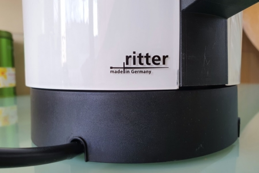 label on the kettle 'made in Germany'