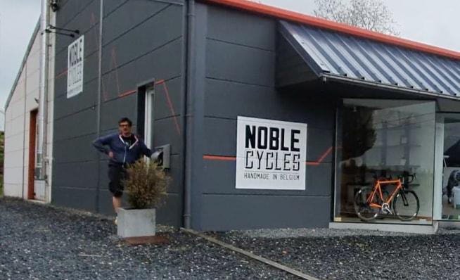 Noble shop in Habay village, Wallonie