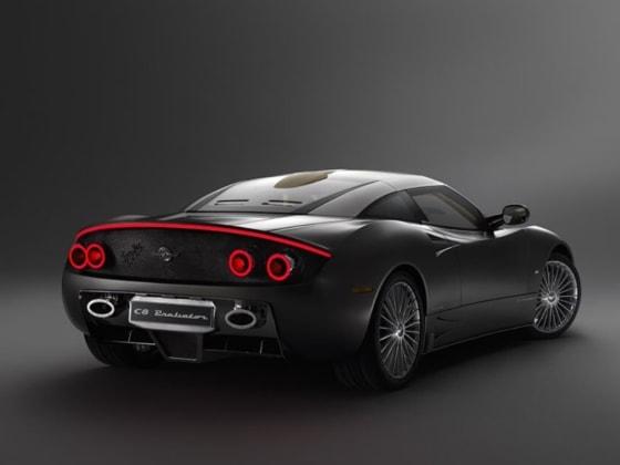 European racing car