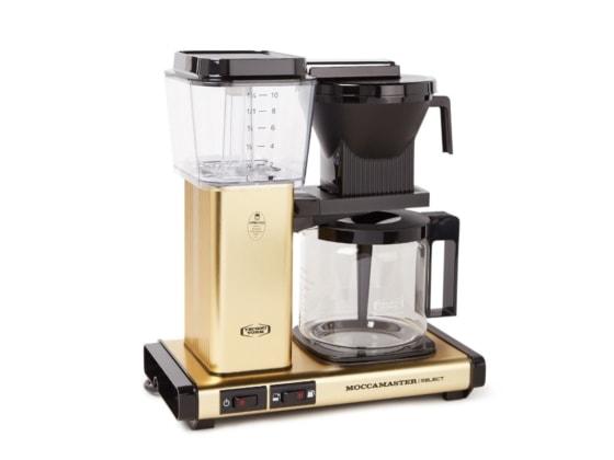 gold coffee maker