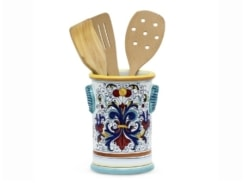 thumbnail to Deruta kitchen utensils