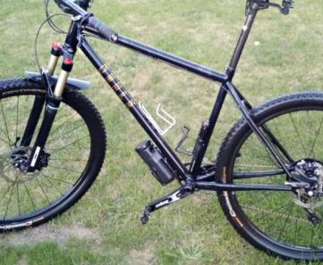 European MTB bike