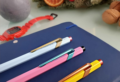 three colourful pens - thumbnail to a review