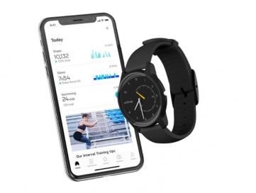 smartphone app display